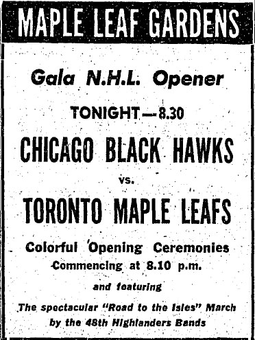 1952–53 Toronto Maple Leafs season