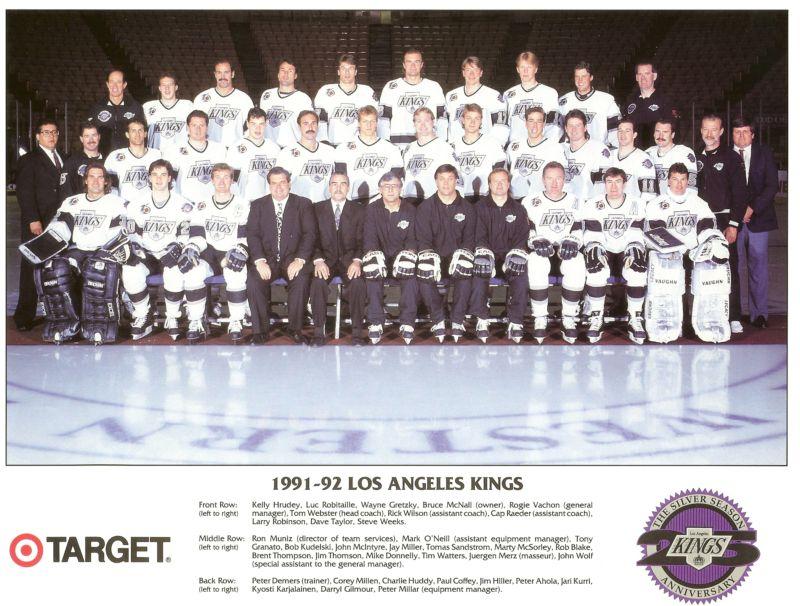 1991–92 Los Angeles Kings season