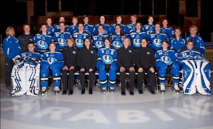 2009–10 Montreal Carabins women's ice hockey season