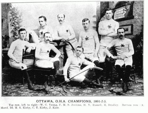 1890-91 OHA Senior Season