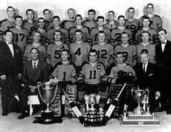1958-59 Winnipeg Braves Memorial Cup Playoffs