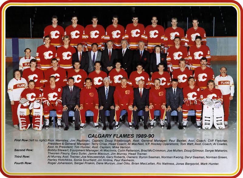 1989–90 Calgary Flames season