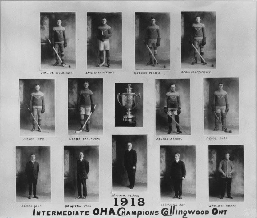 1917-18 OHA Intermediate Groups