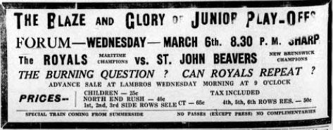 1939-40 Maritimes Junior Playoffs