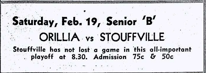 1954-55 OHA Senior B Season