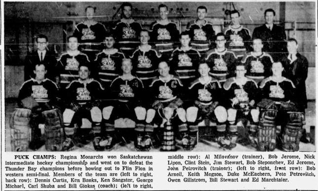 1964-65 Saskatchewan Intermediate Playoffs