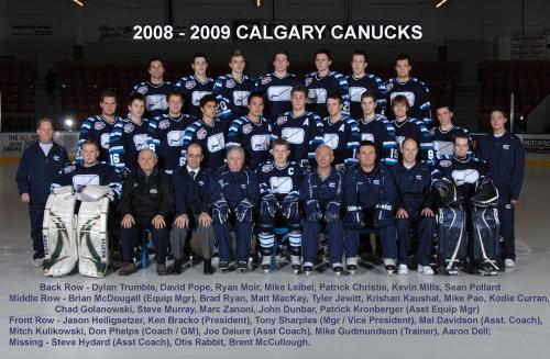 2008-09 AJHL Season