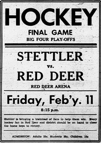 1937-38 Alberta Intermediate Playoffs
