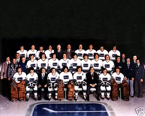 1972–73 Vancouver Canucks season