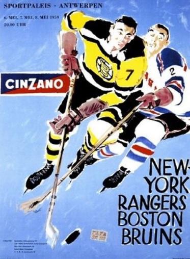 1959 Boston Bruins–New York Rangers European tour
