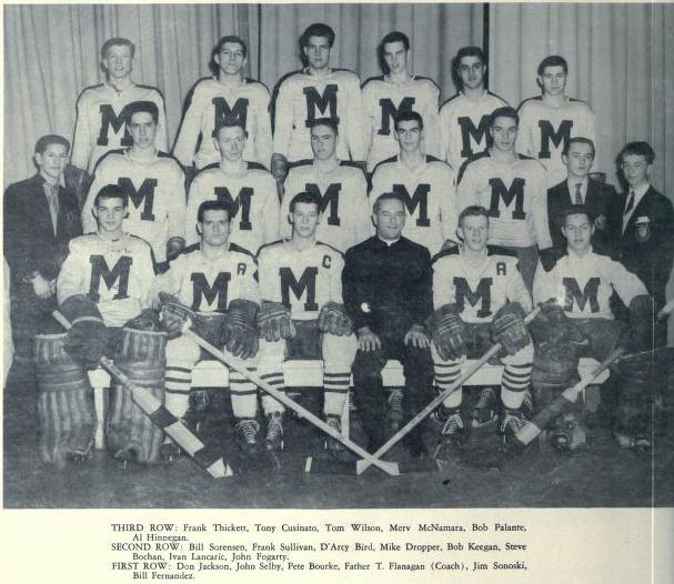 MetJHL Standings 1955-56