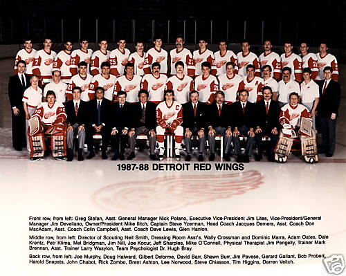 1987–88 Detroit Red Wings season