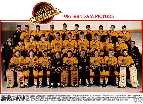 1987–88 Vancouver Canucks season