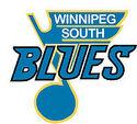 logo as Winnipeg South Blues