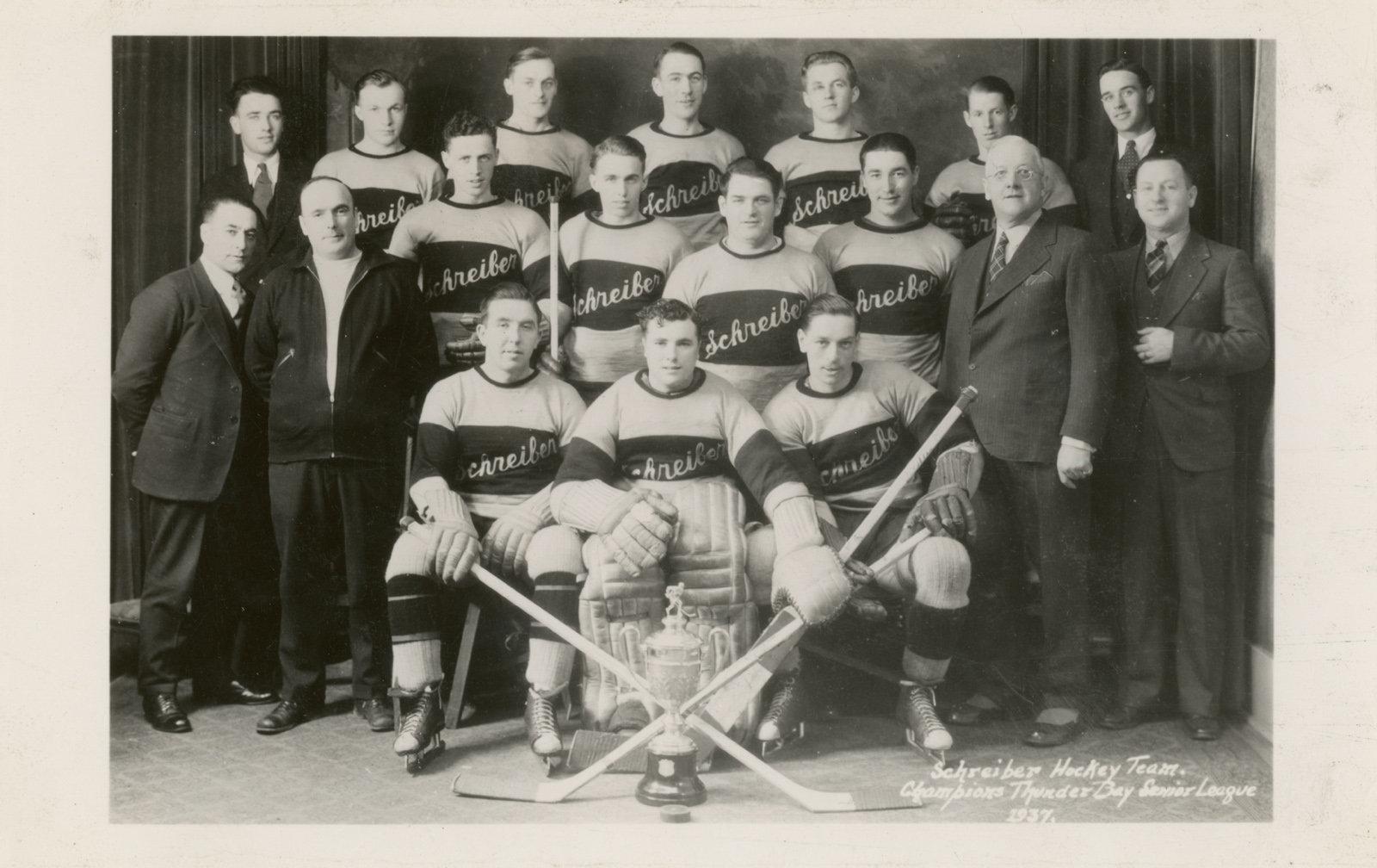 1936-37 Thunder Bay Senior Playoffs