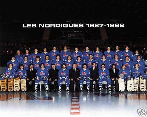 1987–88 Quebec Nordiques season