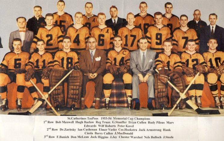 1953-54 Memorial Cup Final