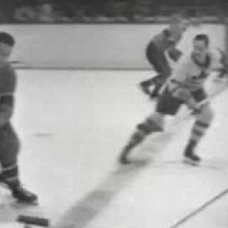 1951 Stanley Cup (Toronto Maple Leafs vs. Montreal Canadiens) - Archive News Reel