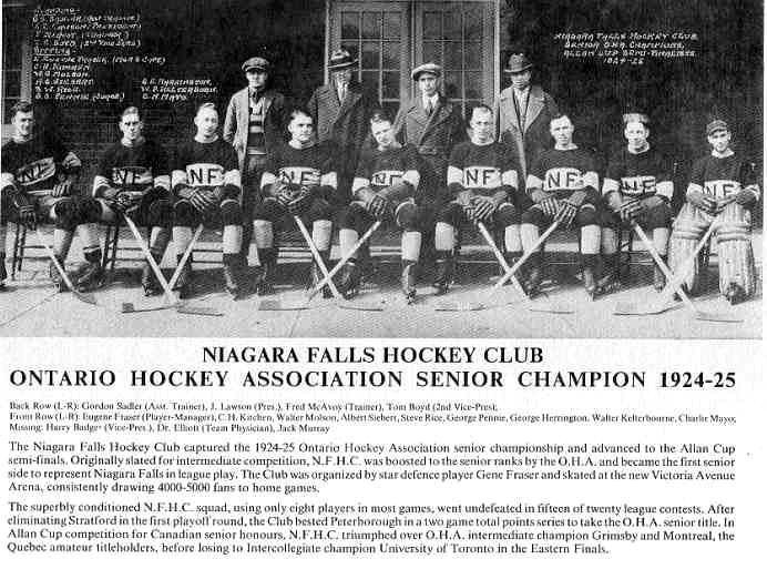 1924-25 Eastern Canada Allan Cup Playoffs