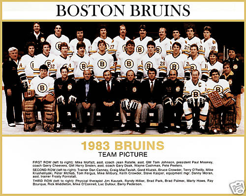 1982–83 Boston Bruins season