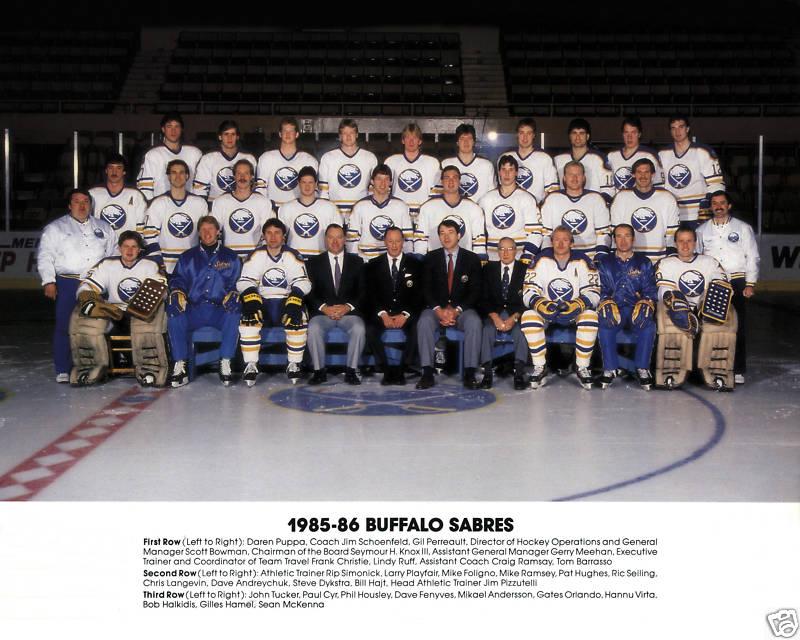 1985–86 Buffalo Sabres season
