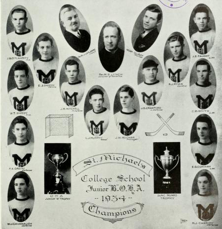 1933-34 OHA Junior B Groupings