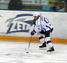 Alexander Koreshkov 2009-01-17 KHL game Dynamo-Barys.JPG