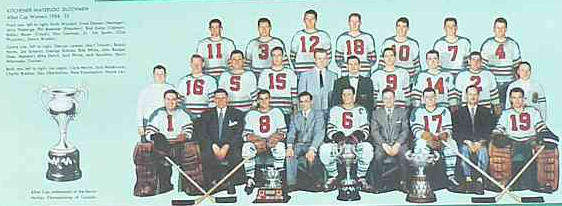 1954-55 OHA Senior Season