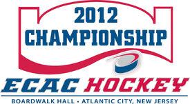 2012 ECAC Hockey Men's Ice Hockey Tournament logo