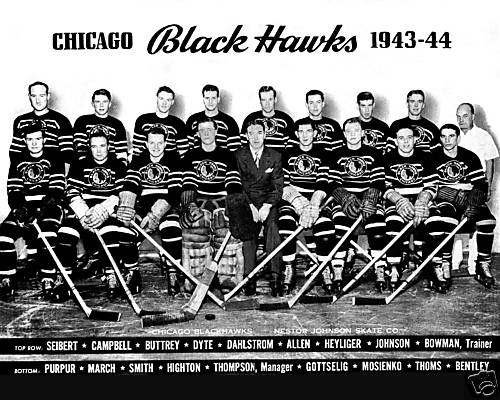 1943–44 Chicago Black Hawks season