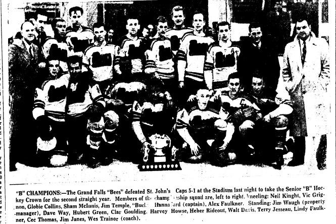 1957-58 Newfoundland Senior Season