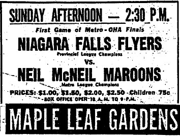 1962-63 Ontario Junior A Playoffs