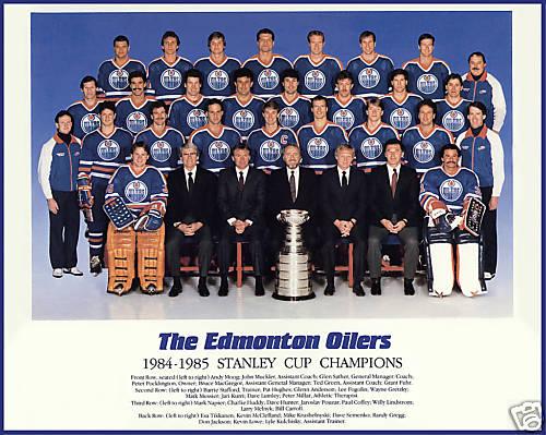 1984–85 Edmonton Oilers season