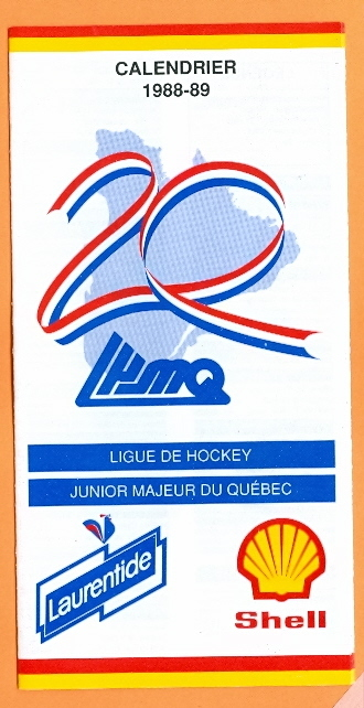 1988–89 QMJHL season