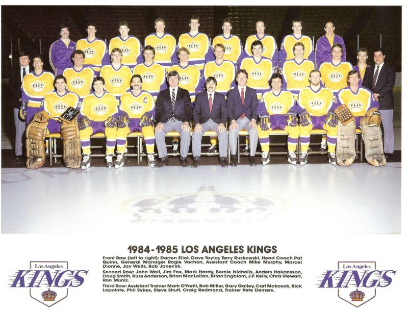 1984–85 Los Angeles Kings season