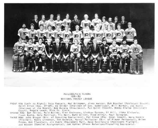 1981–82 Philadelphia Flyers season