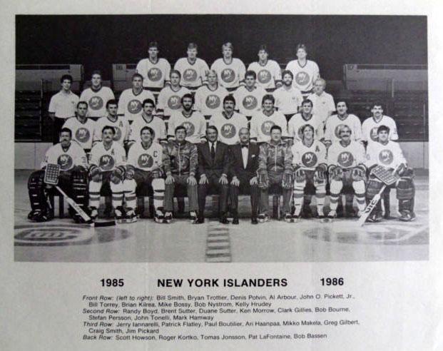 1985–86 New York Islanders season
