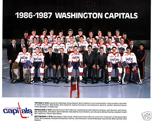 1986–87 Washington Capitals season