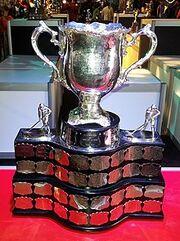 The Memorial Cup trophy