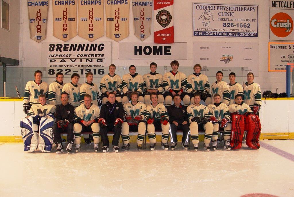 2008-09 EOJBHL Season