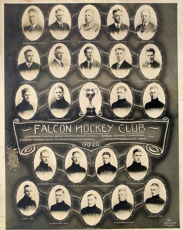 1919-20 Manitoba Senior Hockey League Season