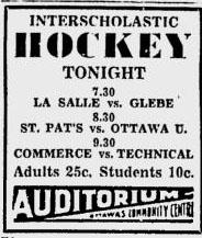 1937-38 Ottawa IS Season