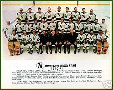 1970–71 Minnesota North Stars season