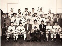 Maple Leafs Verdun 1957-58