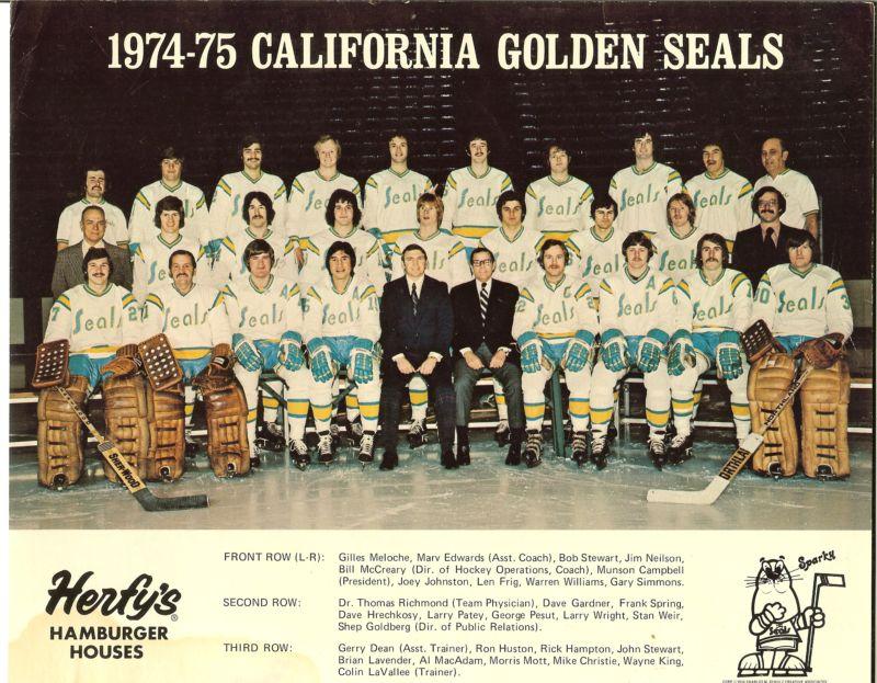 1974–75 California Golden Seals season