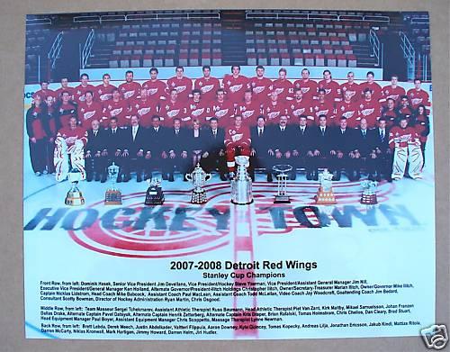 2007–08 Detroit Red Wings season