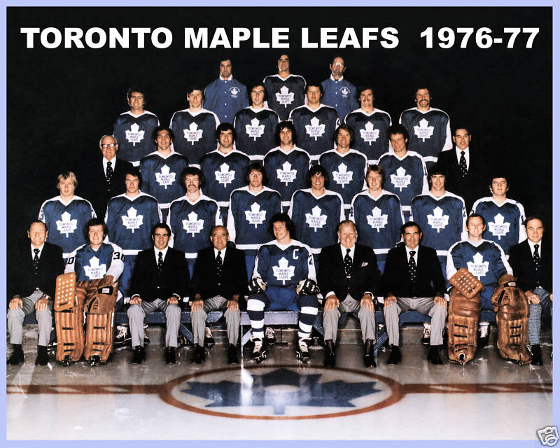 1976–77 Toronto Maple Leafs season