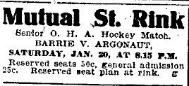 1905-06 OHA Senior Season