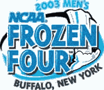 2003 Frozen Four logo