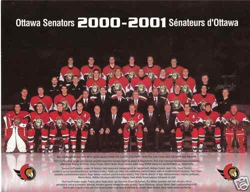 2000–01 Ottawa Senators season